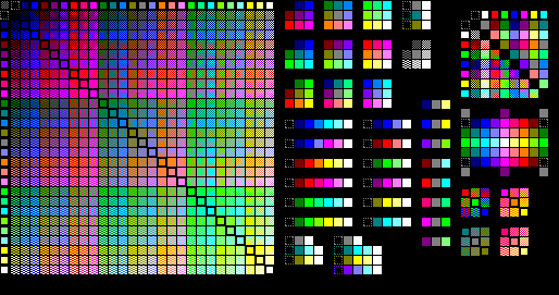 AMSTRAD CPC Vs C64, FIGHT !!!! Palette_CPC_gradiants
