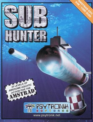 Sub Hunter front cover
