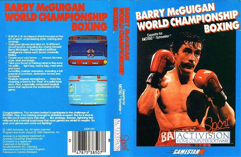 Votre pire du meilleur des jeux de sport sur Amstrad CPC ! 800px-Activision_barry_mcguigan_world_championship_boxing_cover