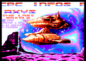 Axys: The Last Battle title screen