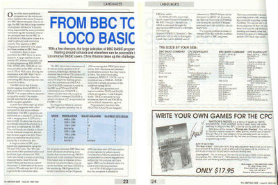 From BBC Basic to Locomotive Basic
