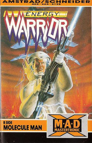 Energy Warrior front cover
