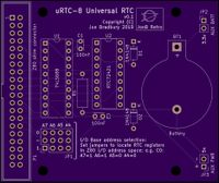URTC-8 Universal RTC for Z80 computers - CPCWiki